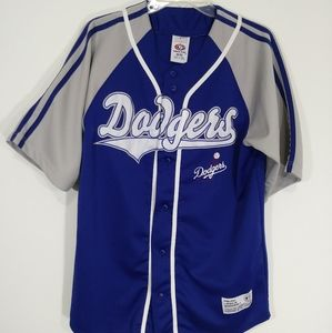 Dodgers blue and gray Jersey size medium